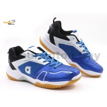 Apacs Cushion Power 082 Blue White Badminton Shoes With Improved Cushioning & Technology