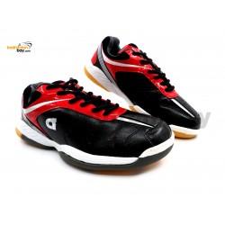 Apacs Cushion Power 500 Black Badminton Shoes With Improved Cushioning