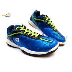 Apacs Cushion Power 500 Blue Badminton Shoes With Improved Cushioning