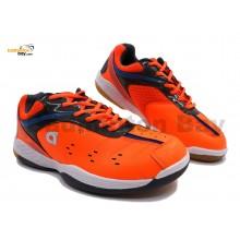 Apacs Cushion Power 500 Orange Badminton Shoes With Improved Cushioning