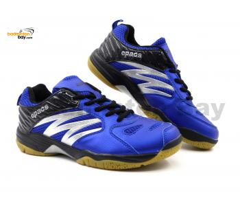 Apacs Cushion Power SP-601 Blue Black Badminton Shoes With Improved Cushioning & Technology