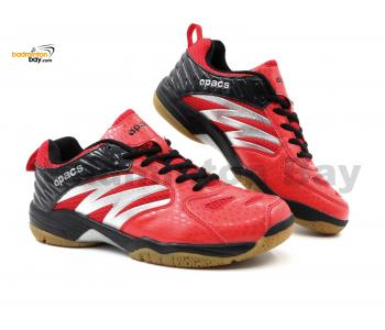 Apacs Cushion Power SP-601 Red Black Badminton Shoes With Improved Cushioning & Technology