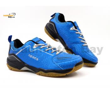 Apacs Cushion Power SP-602 Blue Badminton Shoes With Improved Cushioning & Technology
