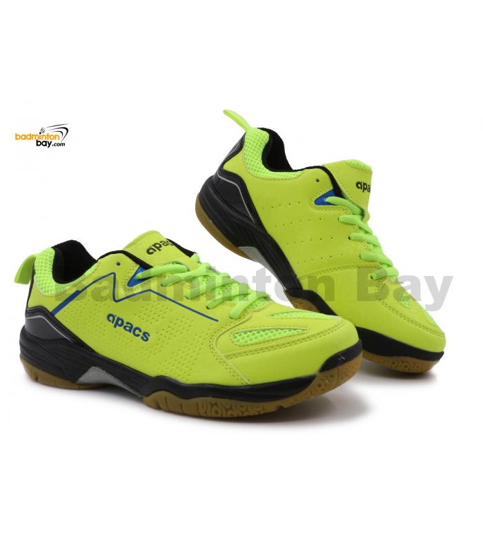 Apacs Cushion Power SP-602 Neon Green Badminton Shoes With Improved Cushioning & Technology