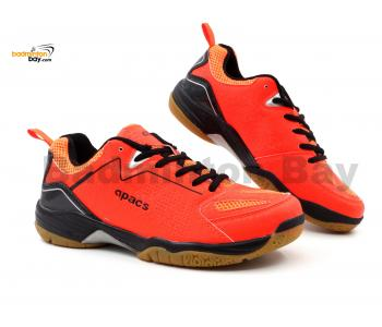 Apacs Cushion Power SP-602 Orange Badminton Shoes With Improved Cushioning & Technology