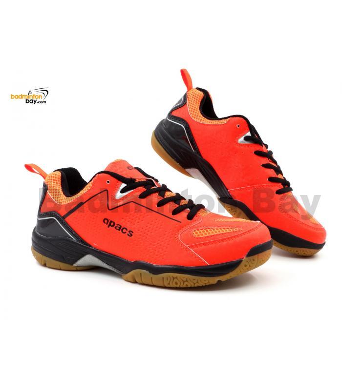 Apacs Cushion Power SP-602 Orange Badminton Shoes With Improved Cushioning & Technology