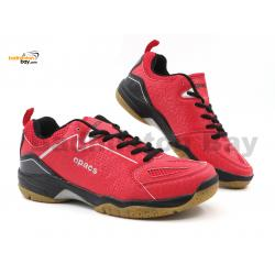 Apacs Cushion Power SP-602 Red Badminton Shoes With Improved Cushioning & Technology