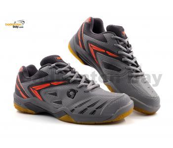 Apacs Cushion Power PRO 773 Grey Badminton Shoes With Improved Cushioning