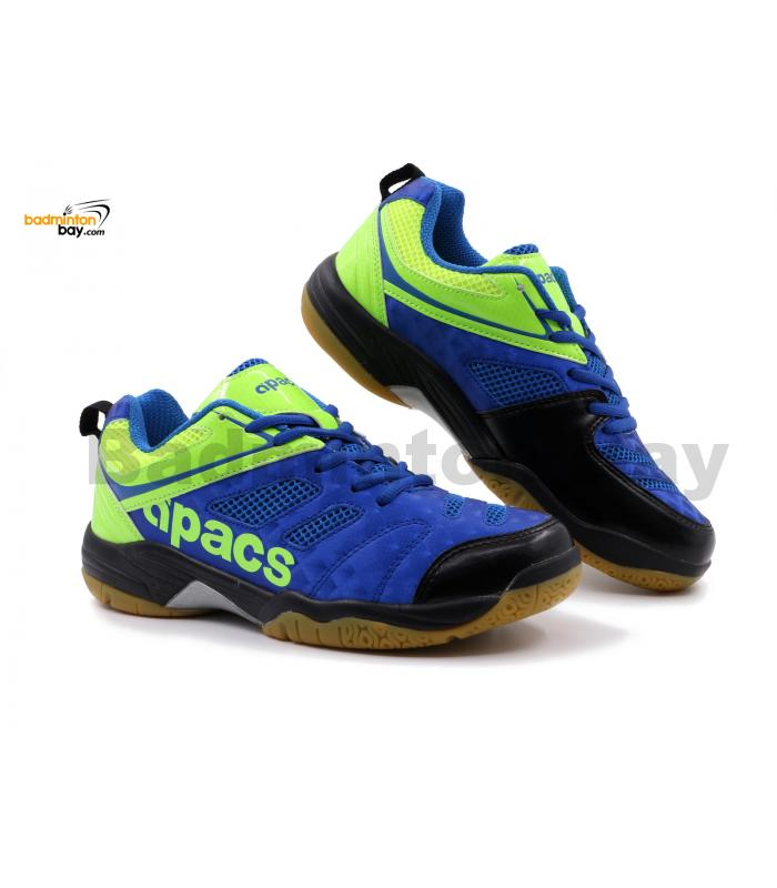 Apacs Cushion Power SP-606 Blue Green Badminton Shoes With Improved Cushioning & Technology