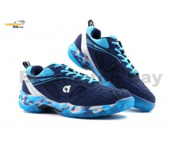 Apacs Cushion Power SP-608F Navy Blue Badminton Shoes With Improved Cushioning