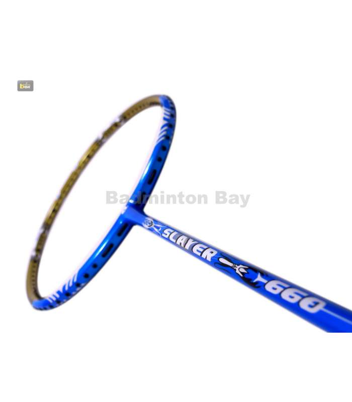 ~Out of stock Apacs Slayer 660 Badminton Racket (5U) Gold Edition