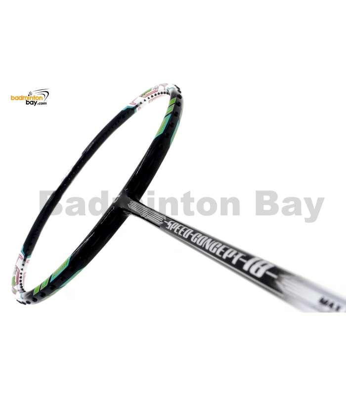 Apacs Speed Concept 18 Black White Badminton Racket (4U)