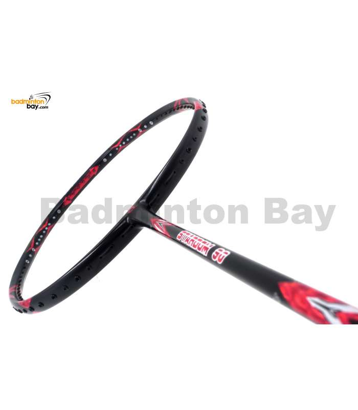 APACS Stardom 90 Black Red Badminton Racket (4U)