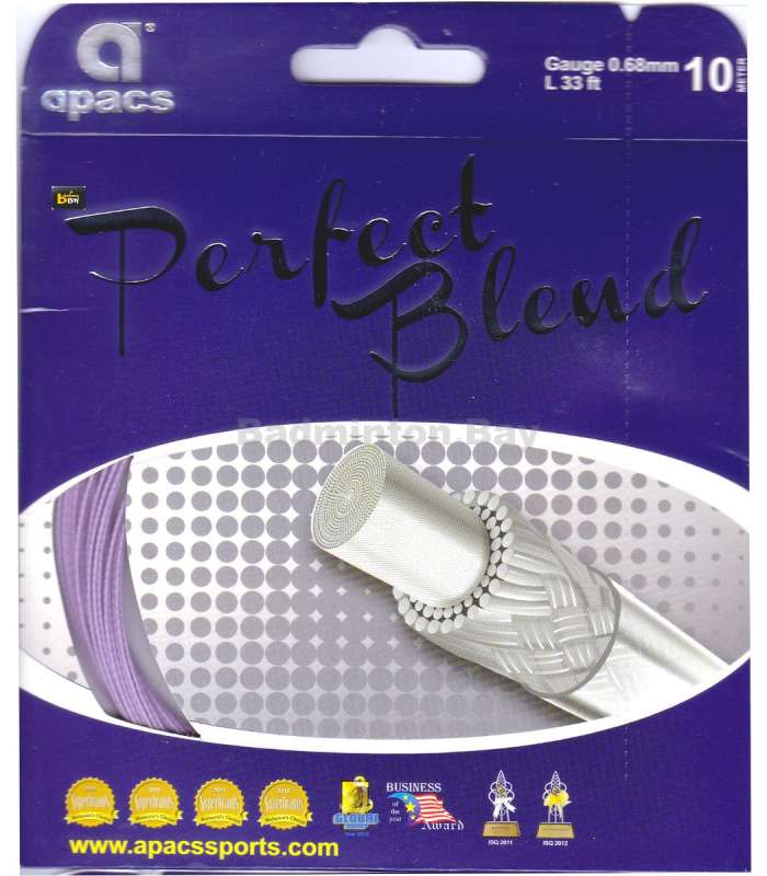 ~Out of stock Apacs Perfect Blend (0.68mm) Badminton String
