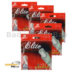 5 pieces Apacs Elite (0.67mm) Badminton String