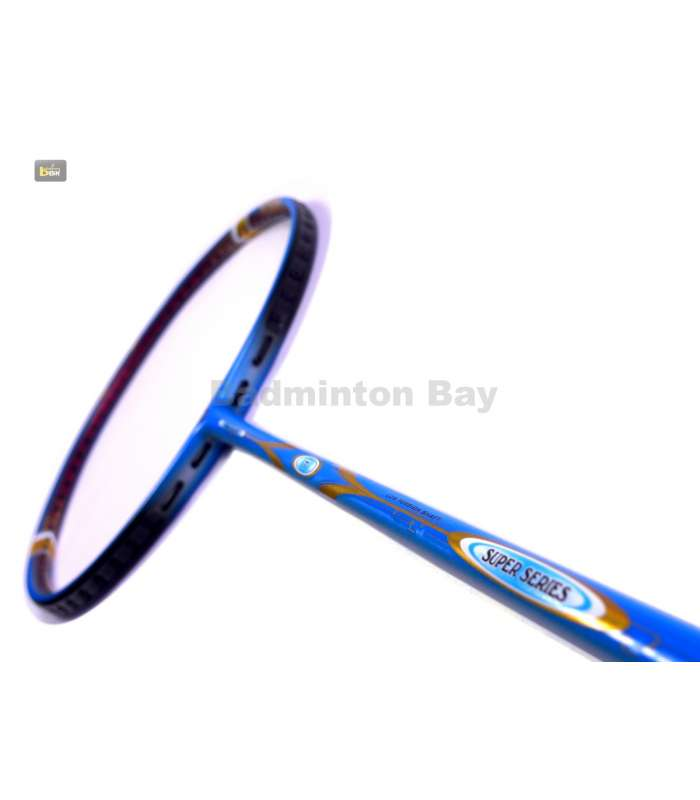 ~Out of stock Apacs Super Series Blue Badminton Racket (4U)