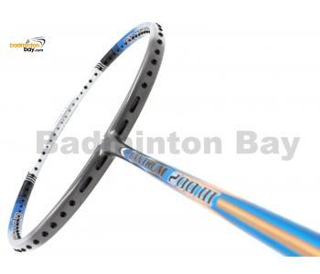 Apacs Tantrum 200 III Grey Blue Matte Badminton Racket (4U)