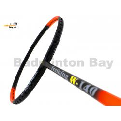 15% OFF Apacs Training W-140 Orange Black Matte Badminton Racket (140g) With Slight Paint Defect (Refer pictures)