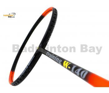 15% OFF Apacs Training W-140 Orange Black Matte Badminton Racket (140g) With Slight Paint Defect (Refer pictures)