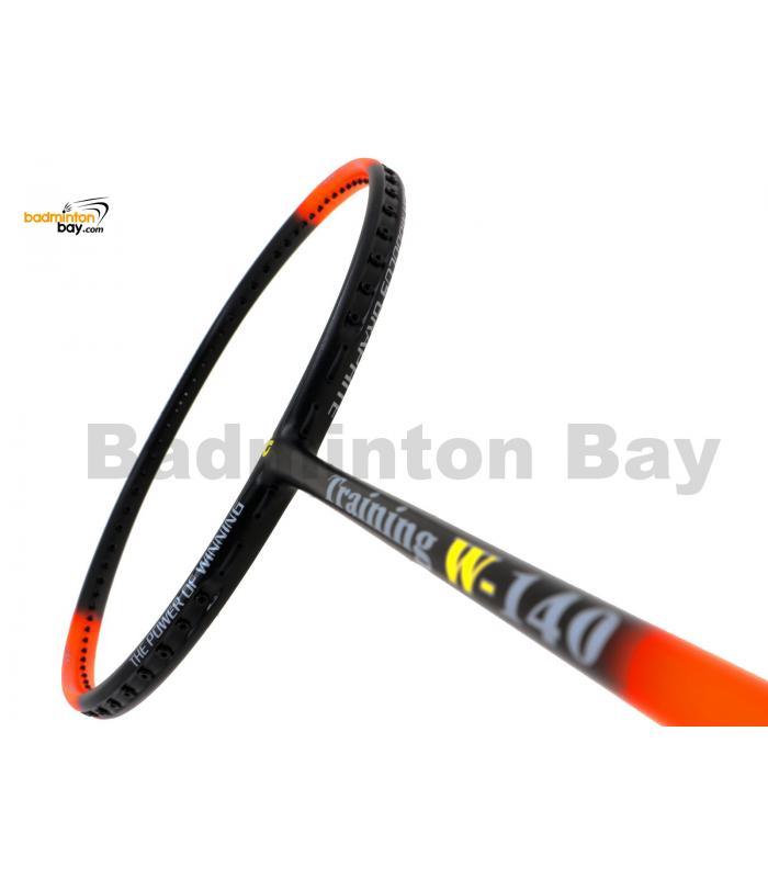 Apacs Training W-140 Orange Black Matte Badminton Racket (140g)
