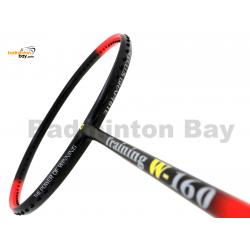 Apacs Training W-160 Red Black Matte Badminton Racket (160g)