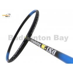 Apacs Training W-180 BlueBlack Matte Badminton Racket (180g)