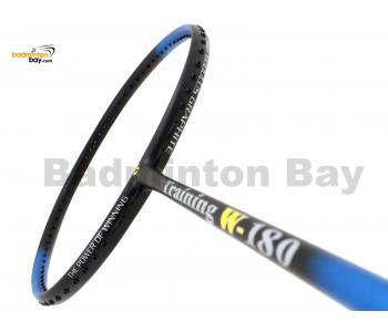 Apacs Training W-180 Blue Black Matte Badminton Racket (180g)