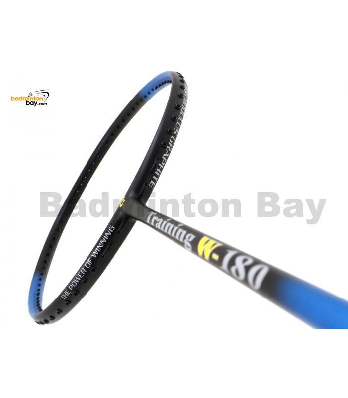 Apacs Training W-180 Blue Black Matte Badminton Racket (180g)
