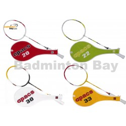 Beginner's Badminton Set / Tyro & Tryo Package  :4 Strung Apacs Tyro / Tryo Badminton Rackets + 1 Tube Apacs Nylon 6-pieces Shuttlecocks
