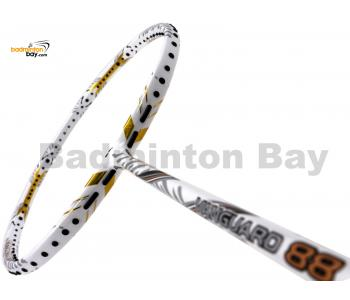 Apacs Vanguard 88 White Badminton Racket  (4U)
