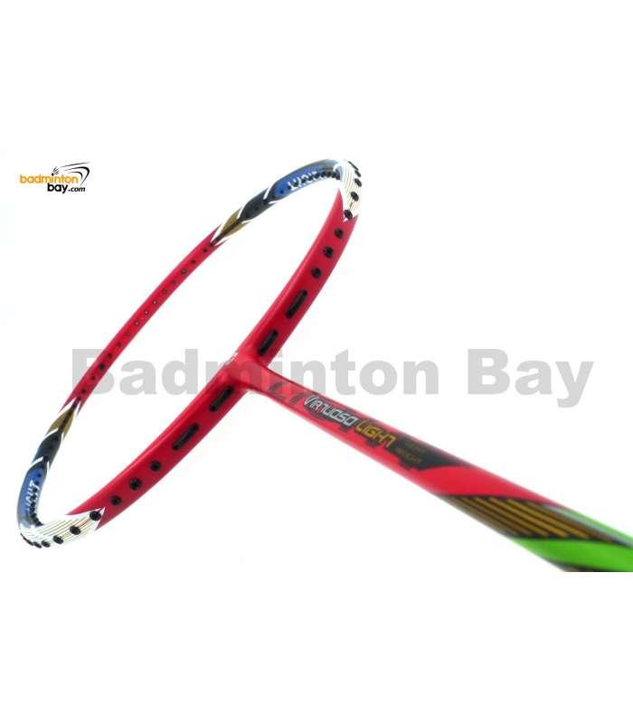 Apacs Virtuoso Light Red Badminton Racket 6U (Edge Saber) (Replacing Model for Sabre Light)