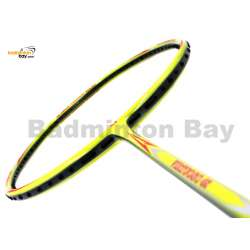 25% OFF Apacs Virtuoso 68 Lime Green Badminton Racket (6U) Strung with White Abroz DG67 Power String at 25 lbs