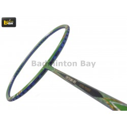 30% OFF Apacs Virtuoso 80 Badminton Racket (6U) Strung with Black Abroz DG67 Power String at 26 lbs Slight Paint Defect (refer picture)