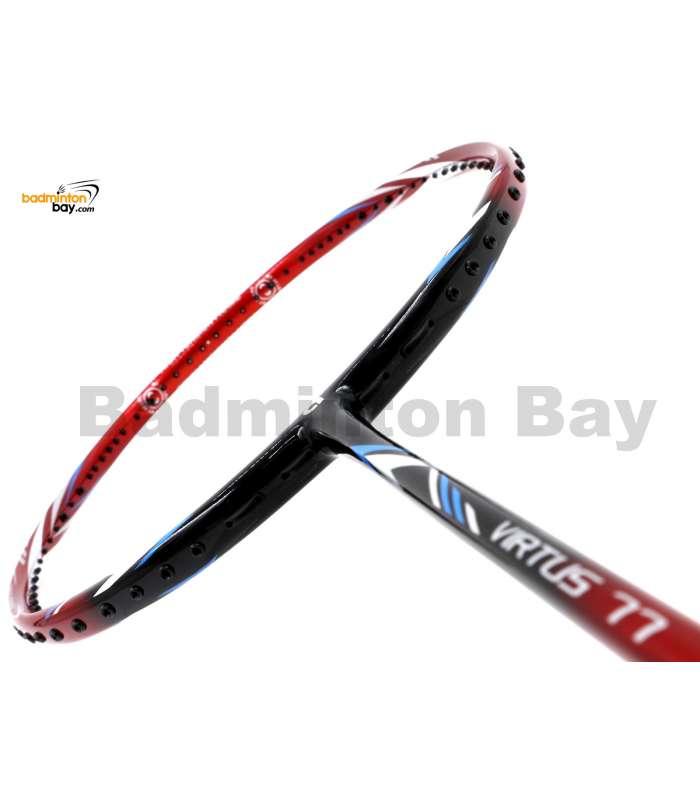 Apacs Virtus 77 Red Black (4U-G1) Badminton Racket