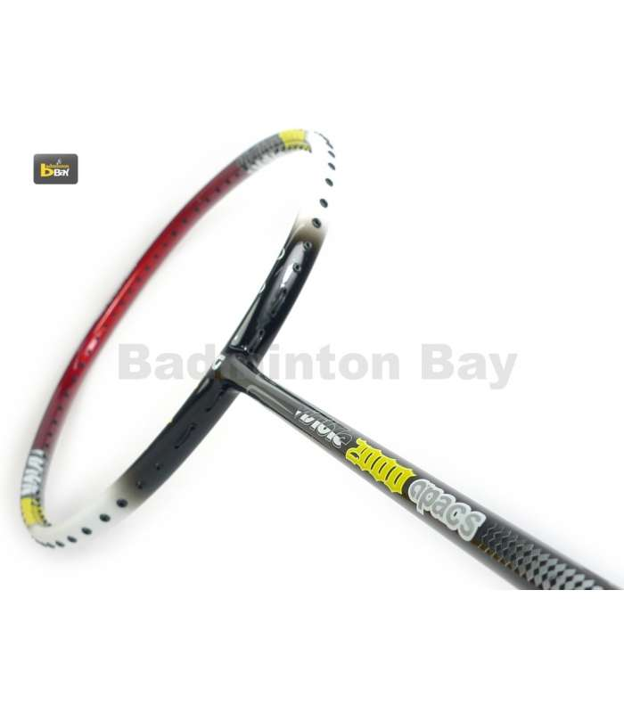 ~ Out of stock   Apacs Visible Hollow 2000 Badminton Racket