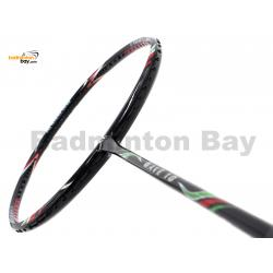 50% OFF Pre-loved Apacs Wave 10 Black Green Badminton Racket (5U) Strung with White Yonex BG66 Ultimax String at 24 lbs