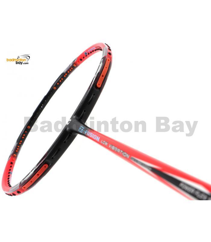 Apacs Z Fusion Bright Red Black Badminton Racket Compact Frame (5U)
