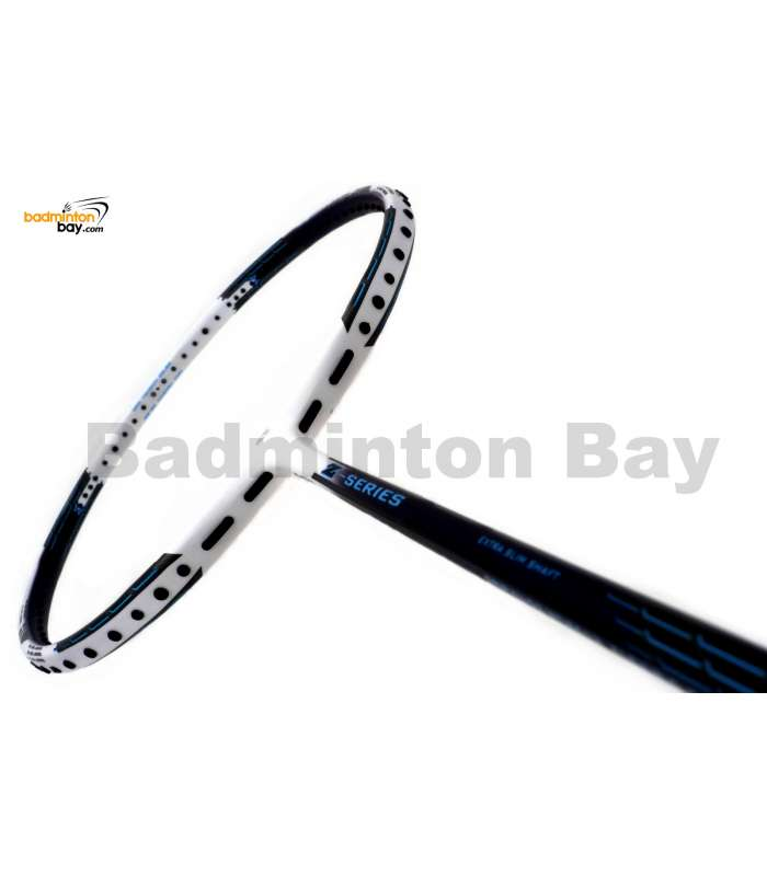 Apacs Z Series Force II White Black ( Black Frame ) Badminton Racket (4U)
