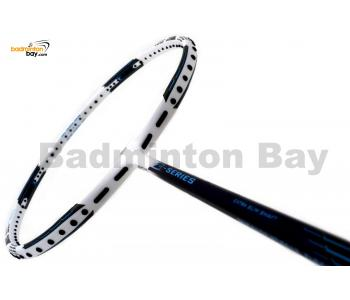 Apacs Z Series Force II White Black ( White Frame ) Badminton Racket (4U)