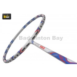 Apacs ZIG 80 White Blue (4U) Badminton Racket
