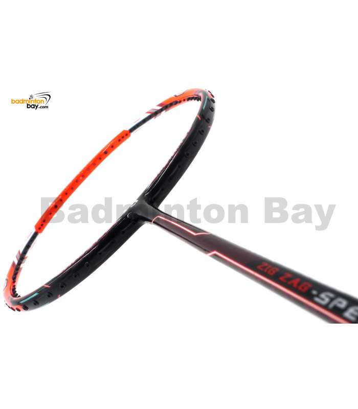 Apacs Zig Zag Speed III Orange (Prime Version) Compact Frame Badminton Racket (4U)