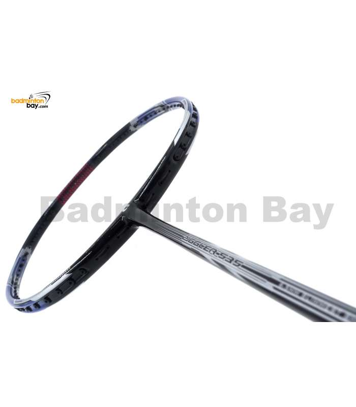 30% OFF Apacs Ziggler 535 Blue Black 5Series Badminton Racket Compact Frame (5U) with Slight Paint Defect (2B) (Refer picture)