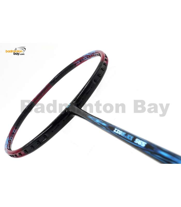 30% OFF Apacs Ziggler 565 Black Red 5Series Compact Frame Badminton Racket (4U) with Slight Paint Defect (4A) (Refer picture)