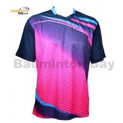 Arora Dri-Fast RNW02 S/S Navy Pink T-Shirt Jersey