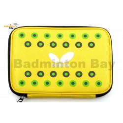 Butterfly Pointia Rectangle Case for Table Tennis Racket 62510 Series Fits 2 Ping Pong Bats