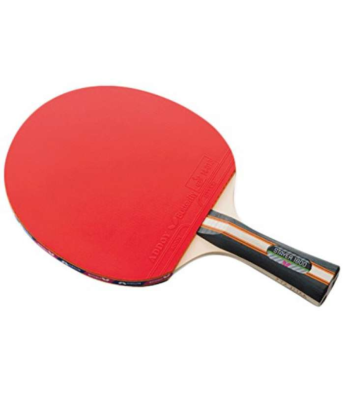 Butterfly Stayer 1800 Shakehand Fl Table Tennis Racket