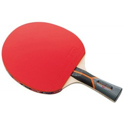 Butterfly Stayer 3000 Shakehand FL Table Tennis Racket with Rubber