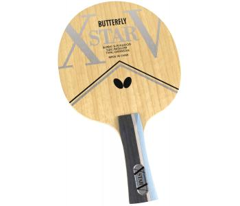 Butterfly Xstar V FL Flared Blade Table Tennis Racket Blade Ping Pong