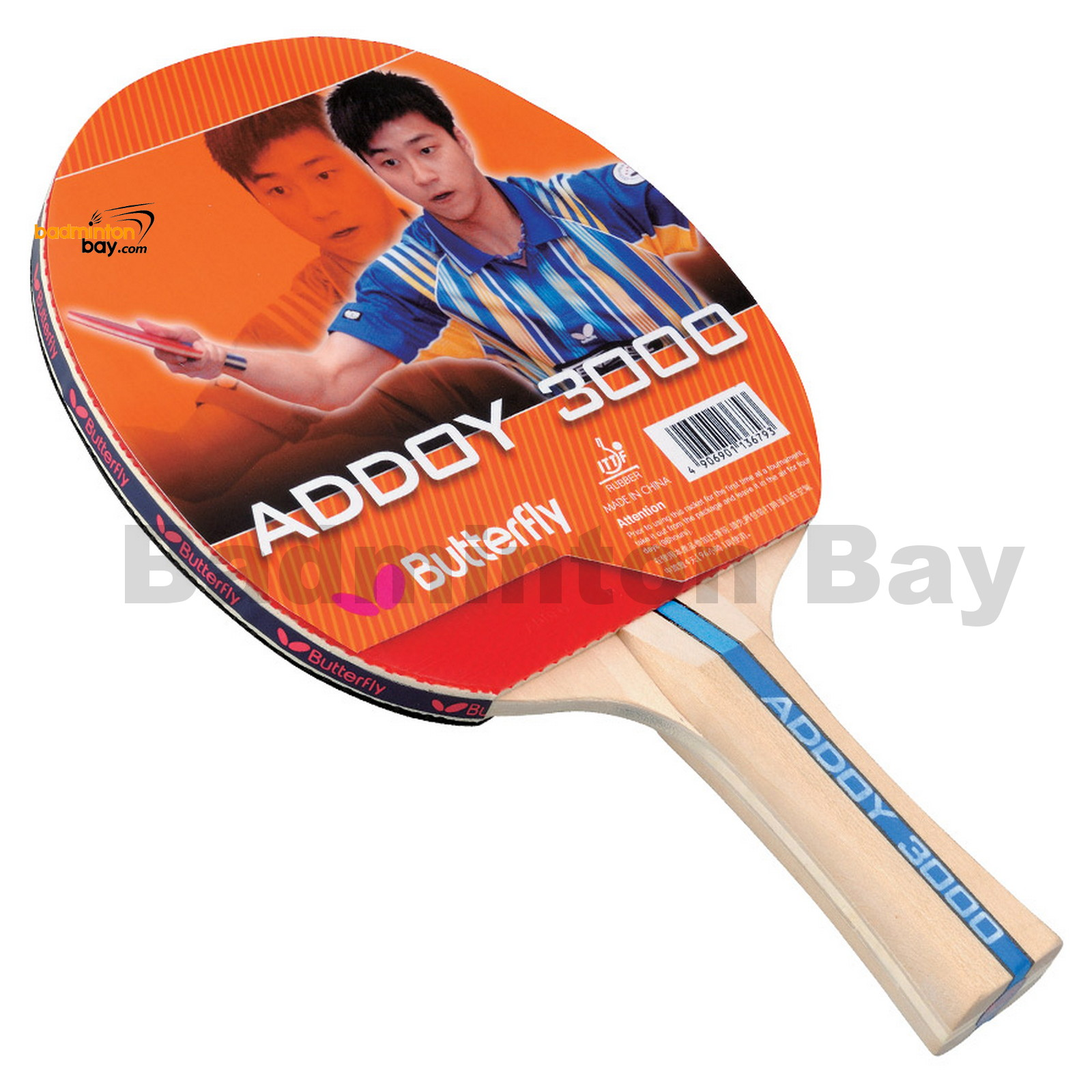 Table tennis racket butterfly