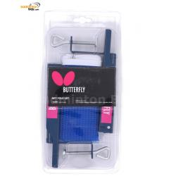 Butterfly Net Pole Set Blue 70260 For Table Tennis Ping Pong Table